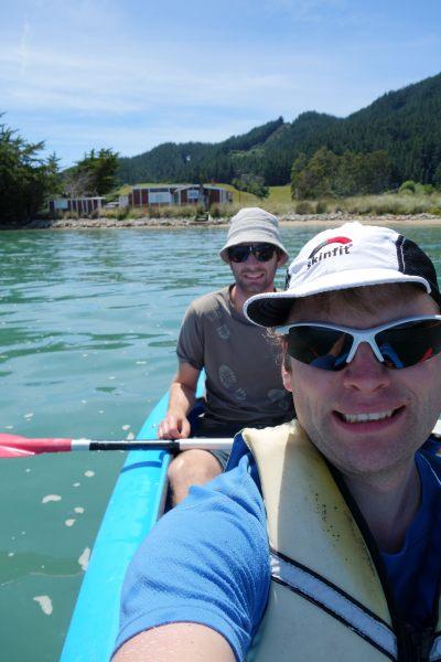 Off for some kayaking (Takaka 2013)