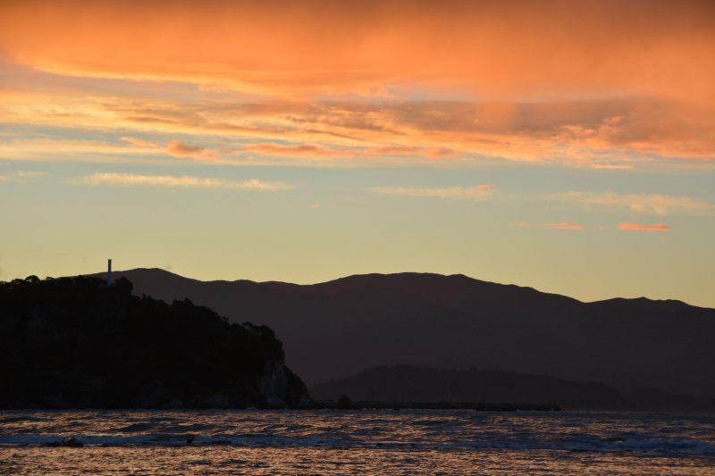 Sunset 2 in Ligar Bay (Takaka 2013)