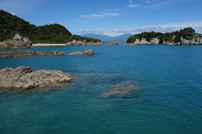 View towards Tata Islandsl (Takaka 2013)