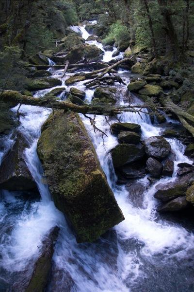 Flowing river (Rabbit Pass Tramp Dec 2014)