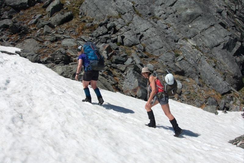 Some snow near Gillespie Pass (Rabbit Pass Tramp Dec 2014)