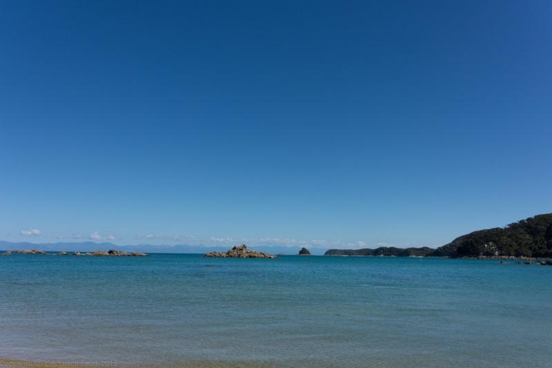 Blue water (Seakayaking Abel Tasman Dec 2014)