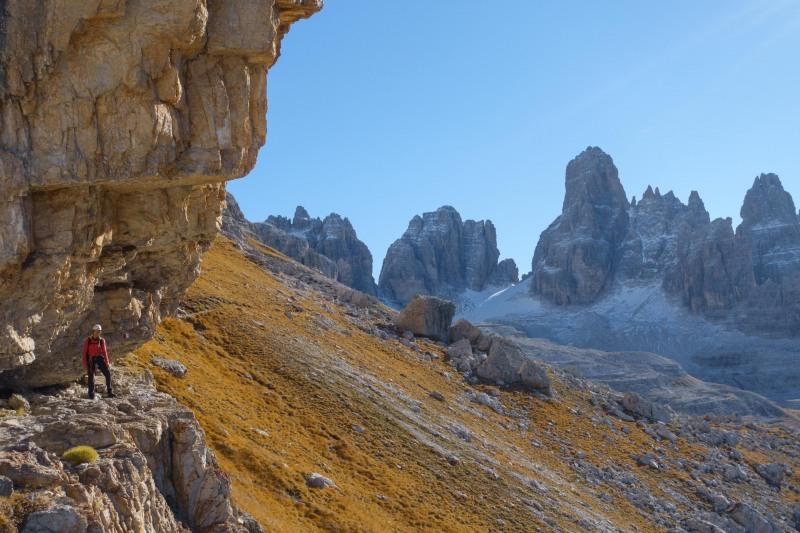 Leonie in the distance 2 (Brenta Dolomites 2016)