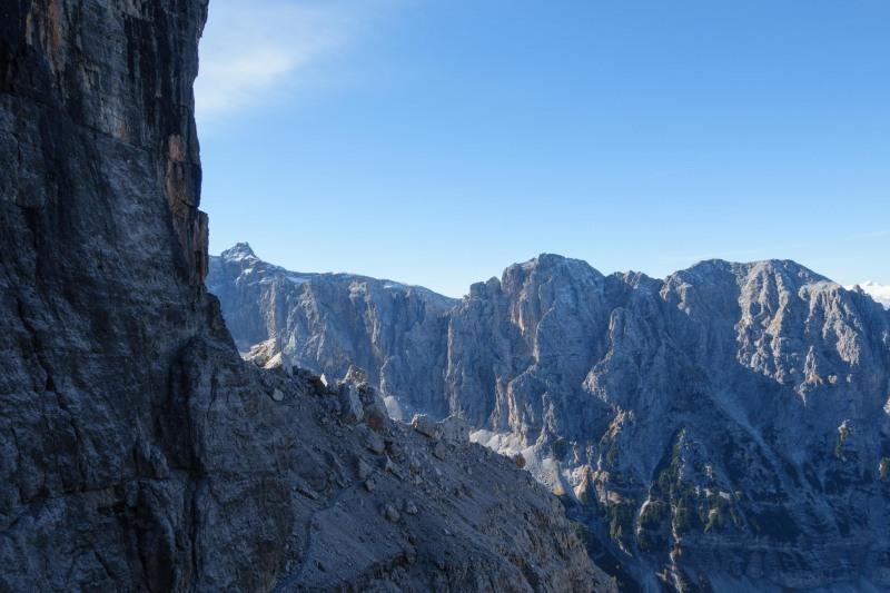 Rock and sky (Brenta Dolomites 2016)