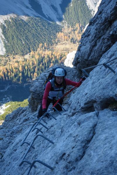 Leonie ascending 3 (Brenta Dolomites 2016)