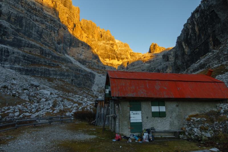 The biv (Brenta Dolomites 2016)