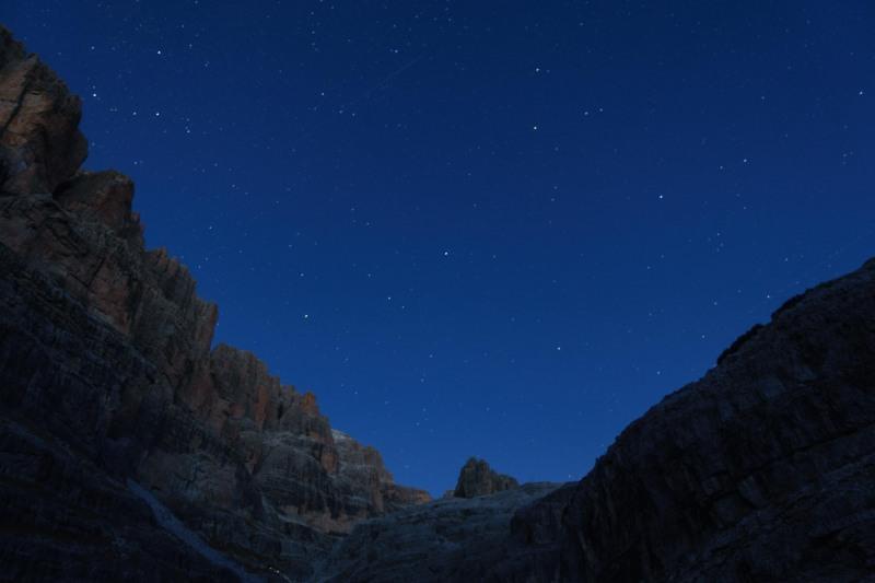View towards the stars 2 (Brenta Dolomites 2016)