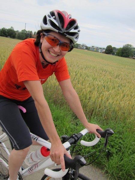 Anna riding (Säntis Classic)