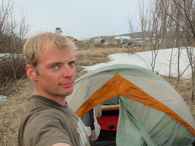 Cris and tent 3 (Tromsø, Norway)