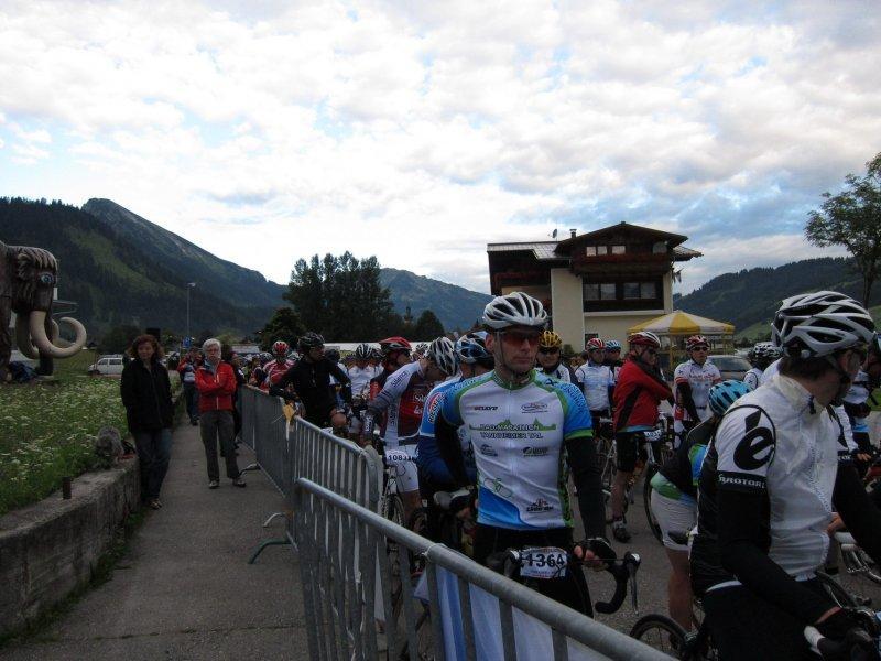 Cris at start line 4 (Tannheim Radmarathon, Austria)