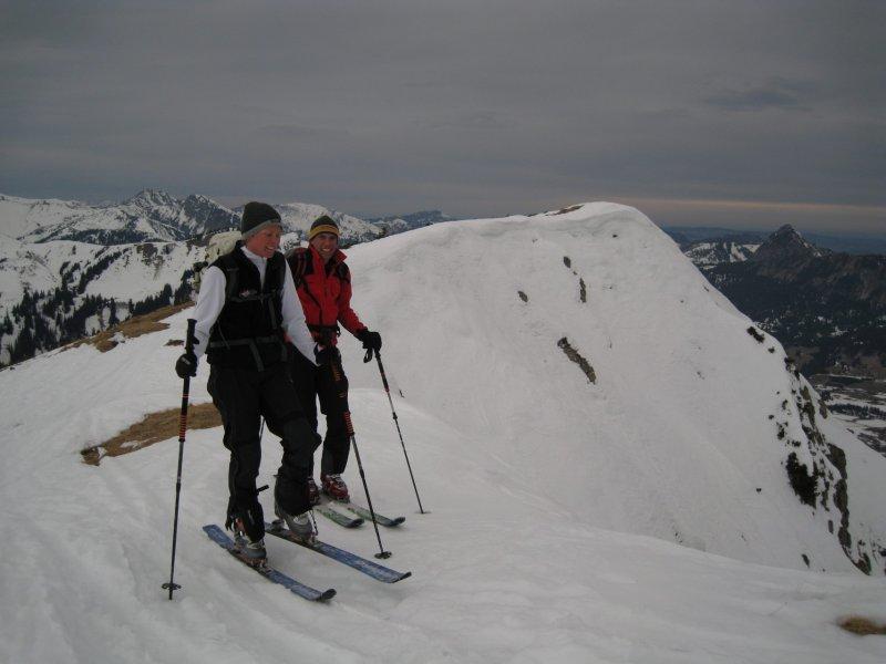 Frauke and Markus (Krinnenspitze, Austria)