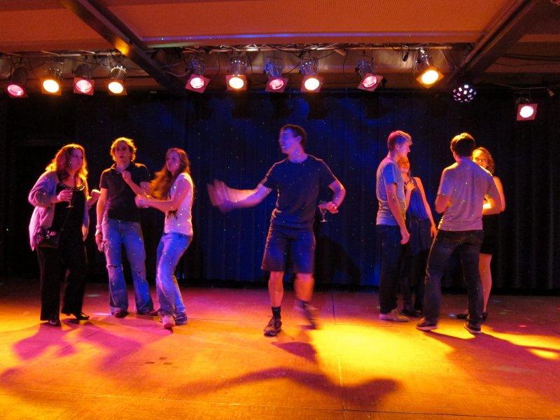 Joe hits the dance floor (Freiburg)