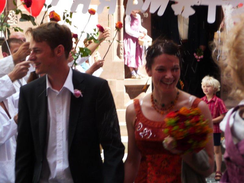 Julian and Jana get married (Freiburg)