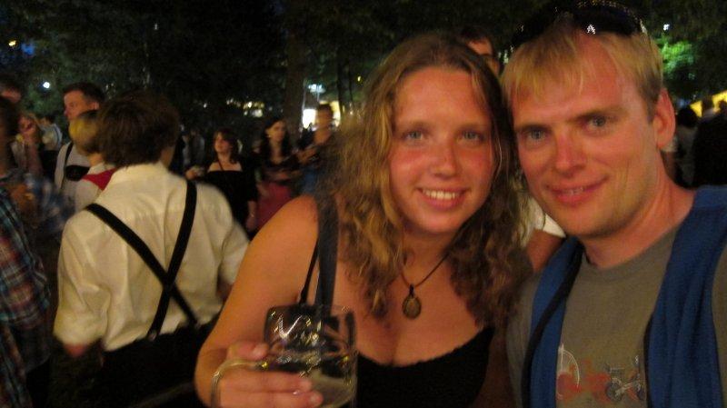 Katha and Cris at the festwoche (Kempten)