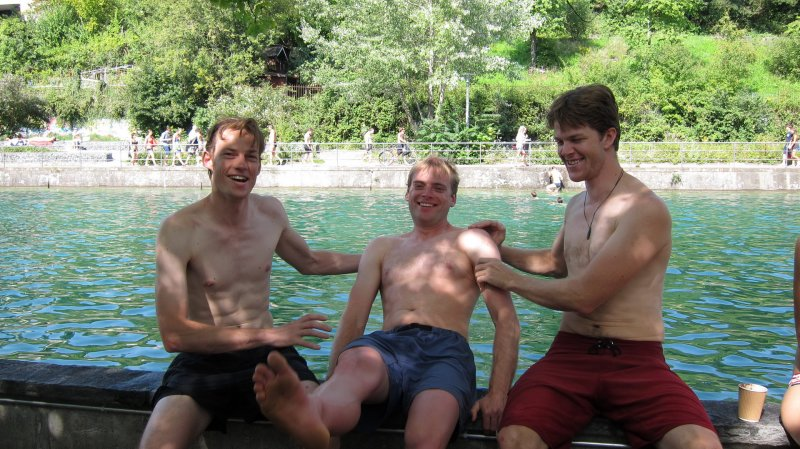 Kiwi posers (Zuerich, Switzerland)