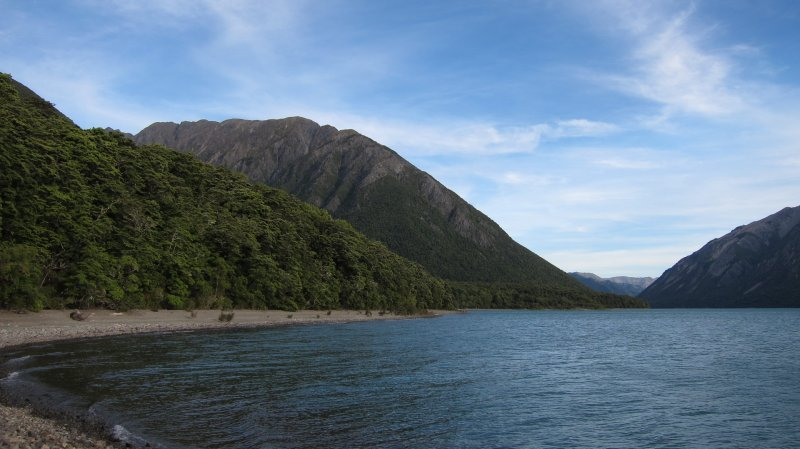 Lake Sumner (Hope Kiwi Lodge Slog)