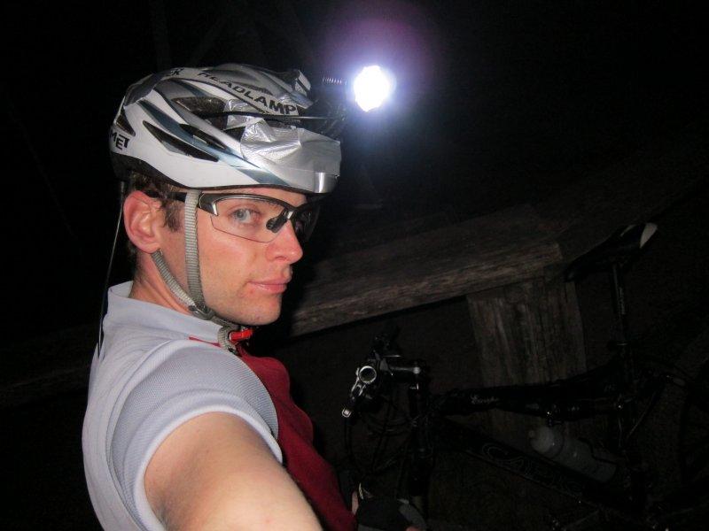 Night biking Rosskopf (Freiburg)