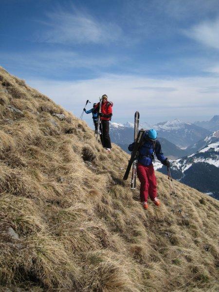 Perhaps the last ski tour (Galtjoch, Austria)
