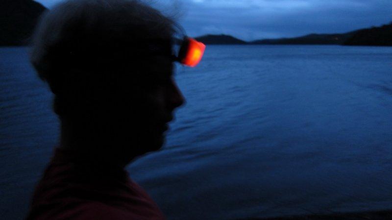 Running around Lake Rotoiti (Nelson Lakes)