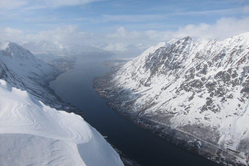 The fiord below 2 (Rørnestinden, Norway)