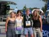 At the finish line with Vero, Franka, and Katha (Voralpenmarathon, Kempten)