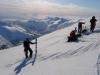 At the top (Langdalstindane, Norway)