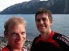 Cris and Ed (Hope Kiwi Lodge Slog)