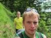 Cris and Suvi walking (Lungern, Switzerland)