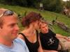 Cris, Rebecca, Julian (BBQ at the Dreisam, Freiburg)