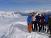 The crew on the summit 2 (Tafeltinden, Norway)