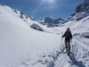 Almost back at the hut (Ski touring Jamtalhuette)