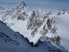 Ascent to the Hintere Jamspitze (Ski touring Jamtalhuette)