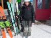 Back at the hut (Ski touring Jamtalhuette)