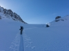 Climbing (Ski touring Jamtalhuette)
