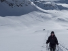 Leonie and mountains 2 (Ski touring Jamtalhuette)