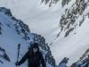 Leonie ascending (Ski touring Jamtalhuette)