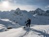 Premium posing (Ski touring Jamtalhuette)