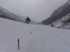 Snowy grey weather (Ski touring Jamtalhuette)
