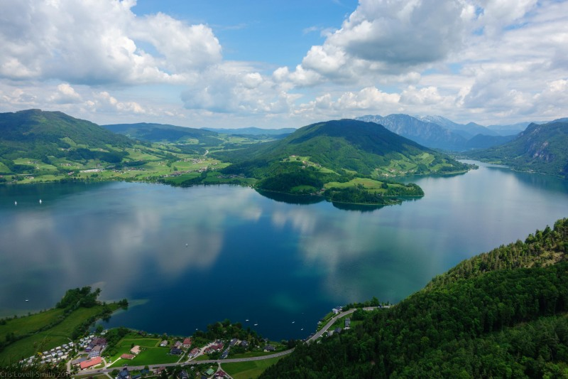View from the Drachenwand (Climbing Holiday June 2019)