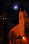 Church at night (Oberstdorf, Germany)