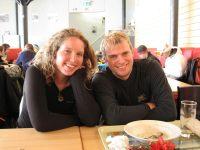 Katha and Cris (Kanzelwand, Austria)