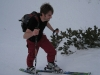 Brendan powers towards the top (Ski Touring, Tannheimer Tal, Austria)
