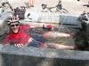 Chris cools off (Lago di Garda, Italy)