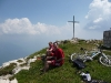 Cris and Chris on Monte Stivo (Lago di Garda, Italy)