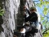 Emily climbing 3 (Oetz, Austria)