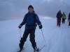 Julian on skis (Ski Touring, Schwarzwald, Germany)