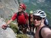 Klettersteigers (Lago di Garda, Italy)