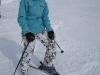 Skiing with Katharina (Kanzelwand, Austria)