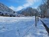 Snow and fence (Oberstdorf, Germany)