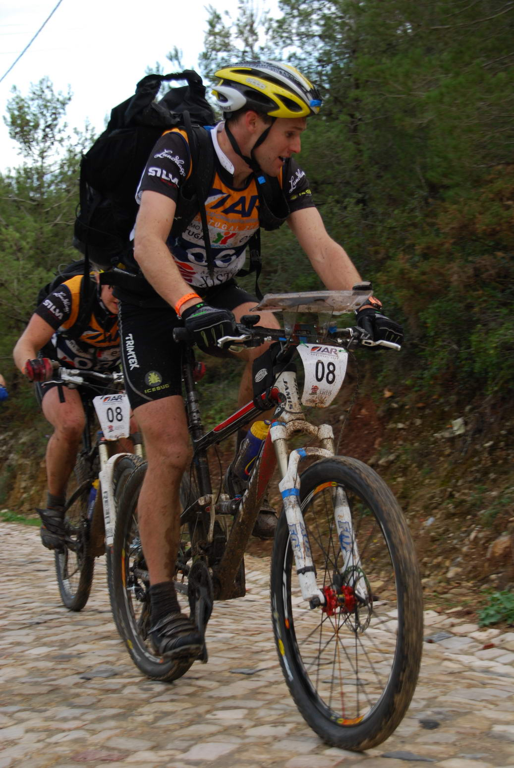 Aaron leads the way (Portugal ARWC 2009)